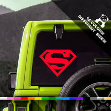 Dc Comics Superman Art Superhero Car Wall Window Truck Vinyl Decal Sticker 10