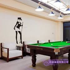 Women Billiards Wall Sticker Customized Snooker Decal Posters Vinyl Wall Decals Decor Mural Car Windows Billiards Decal Wall Stickers Aliexpress