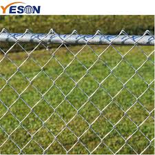 China 2019 High Quality Chain Link Fencing Cost Chain Link Fence Galvanized Yeson Factory And Manufacturers Yeson