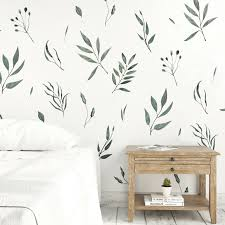 Watercolor Leaves Wall Decals Nursery Leaf Wall Decals Project Nursery