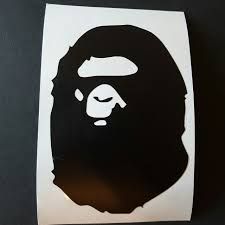 Bape Vinyl Decal Sticker Great For Depop