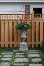 Garden Fences Dirt Simple Privacy Fence Designs Fence Design Lattice Fence