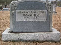 Sarah Adeline Roberts Jones (1856-1947) - Find A Grave Memorial