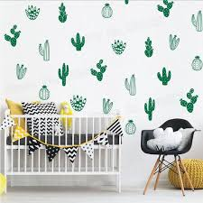Cactus Wall Decals Pebble And Pebble