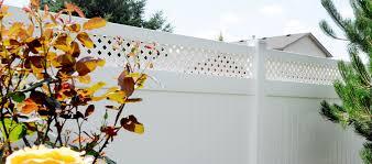 Vinyl Lattice Top Fencing Rick S Custom Fencing Decking