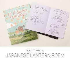 writing a anese lantern poem