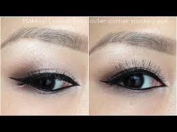 easy outer corner smokey eye tutorial