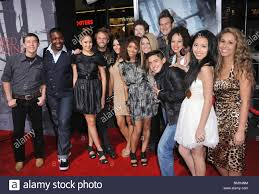 American idol, Last 13 at Red Riding Hood Premiere at the Chinese ...