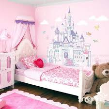 Disney Princess Castle With Colorful Birds And Squirrel Large Wall Sticker Kids Room Bedroom Kids Room Wall Stickers Disney Princess Bedroom Princess Bedrooms