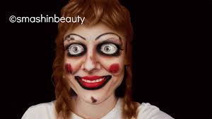 the conjuring annabelle doll makeup