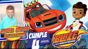Blaze And The Monster Machines Fiesta Video Invitacion Digital