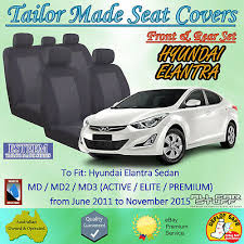 tailor made black car seat covers for