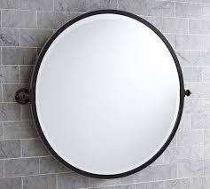 bathroom mirror round black bathrooms