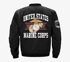 Marine Corps Jacket United State Marine Corps Logo U S Marine Corps Semper Fidelis Car Decal Sticker Png Image Transparent Png Free Download On Seekpng