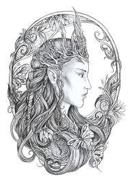Elven Queen By Jankolas On Deviantart Fantasy Myth