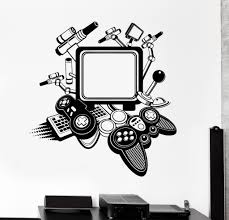 Game Vinyl Wall Decal Computer Pc Gamer Video Gadgets Stickers Unique Gift Ig4231 Vinyl Wall Decals Wall Decals Vinyl Wall
