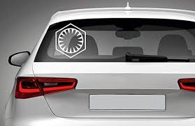 Amazon Com Star Wars First Order Vinyl Decal For Car Laptop Macbook Phone Truck Bumper Window Wall Bathroom Bedroom Door Decals Sticker Made In Usa Home Kitchen