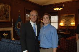 Assignment: 48-DPA-SOI_K_Cory_Smith] Secretary Dirk Kempthorne [meeting at  Main Interior with group including] Cory Smith--son of [External and  Intergovernmental Affairs Director] Gary Smith--along with Zack Dawson,  Louis Marcheck, and Kevin Bradfield ...