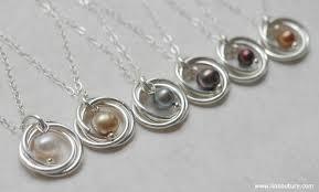 pearl necklace diy tutorial