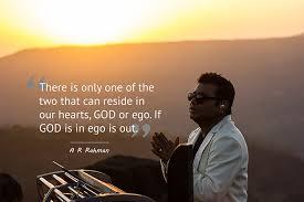 god or ego if god is in ego is out a r rahman live show