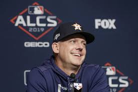 AJ Hinch has been fired by the Astros ...