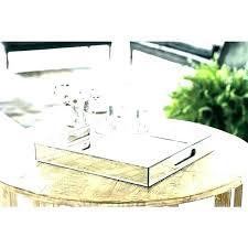 low mirrored coffee table mrcrawfish co