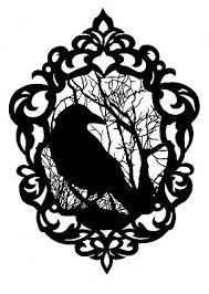 Crow Silhouette Gothic Vinyl Sticker Decal Car Bumper Laptop Window Wall Hq 3 39 Picclick Uk