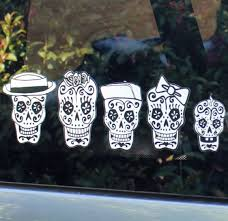 Sugar Skull Car Stickers Sugar Skull Culture