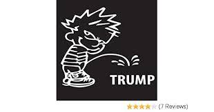 Auto Parts Accessories Trump Piss On Hillary Funny Car Truck Window White Vinyl Decal Sticker Chevy Smaitarafah Sch Id