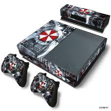 Xbox One Console Skin Decal Sticker Resident Evil 2 Controller Skins Set Xbox One Console Xbox One Skin Xbox One