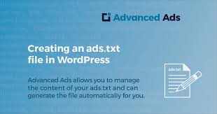 creating an ads txt file in wordpress