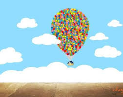 Up Movie Decal On Etsy A Global Handmade And Vintage Marketplace Balloon Wall Balloon House Balloons