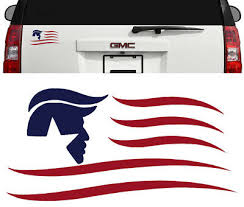 President Donald Trump Flag Decal Sticker Car Window Laptop Bumper Pence Ebay
