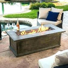 outdoor fireplace coffee table À