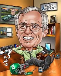 unique boss gift custom caricature of