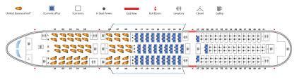 boeing 787 9 dreamliner seat map