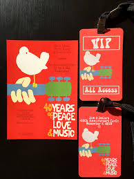 woodstock themed 40th anniversary party