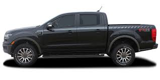 2019 2020 Ford Ranger Stripes Decals Uproar Side Body Vinyl Graphic Accent Kit