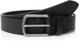 fossil men s percy genuine leather belt