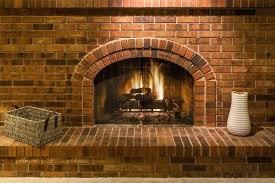 cleaning fireplace bricks indoors brick