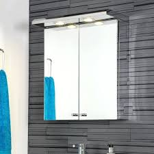 led bathroom mirror cabinet with