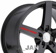 4 Sports Mind Wheels Decal Sticker Sport Racing Car Rims Emblem Motorsport Logo Ebay