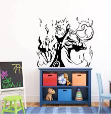 Japanese Cartoon Vinyl Wall Sticker Naruto Hokage Ninjia Anime Boys Mural Art Wall Decal Kids Room Decorative Home Decor Hy08 A105