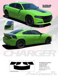 For Dodge Charger Hemi Daytona 2015 2020 Trunk Vinyl Graphic Decals Stripes Wrap Ebay