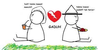 cemburu love is cinta