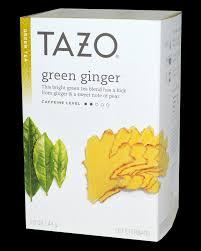 tazo tea green ginger pure market