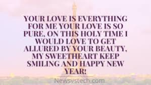 beautiful happy new year quotes girlfriend boyfriend