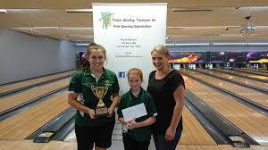 Tenpin Bowling Tasmania - Masters Champion - Sarah Pennicott, Restricted  Masters Champion - Abby George & Tasmanian Junior Girls Coach - Sara Peck.  | Facebook