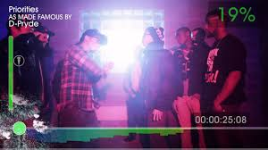 Priorities - D-Pryde (Directed By Rik Cordero) - YouTube