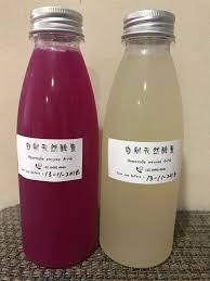 homemade enzyme drink food drinks